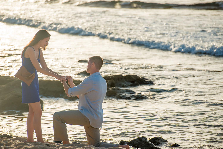 Surprise Proposal on Maui's North Shore