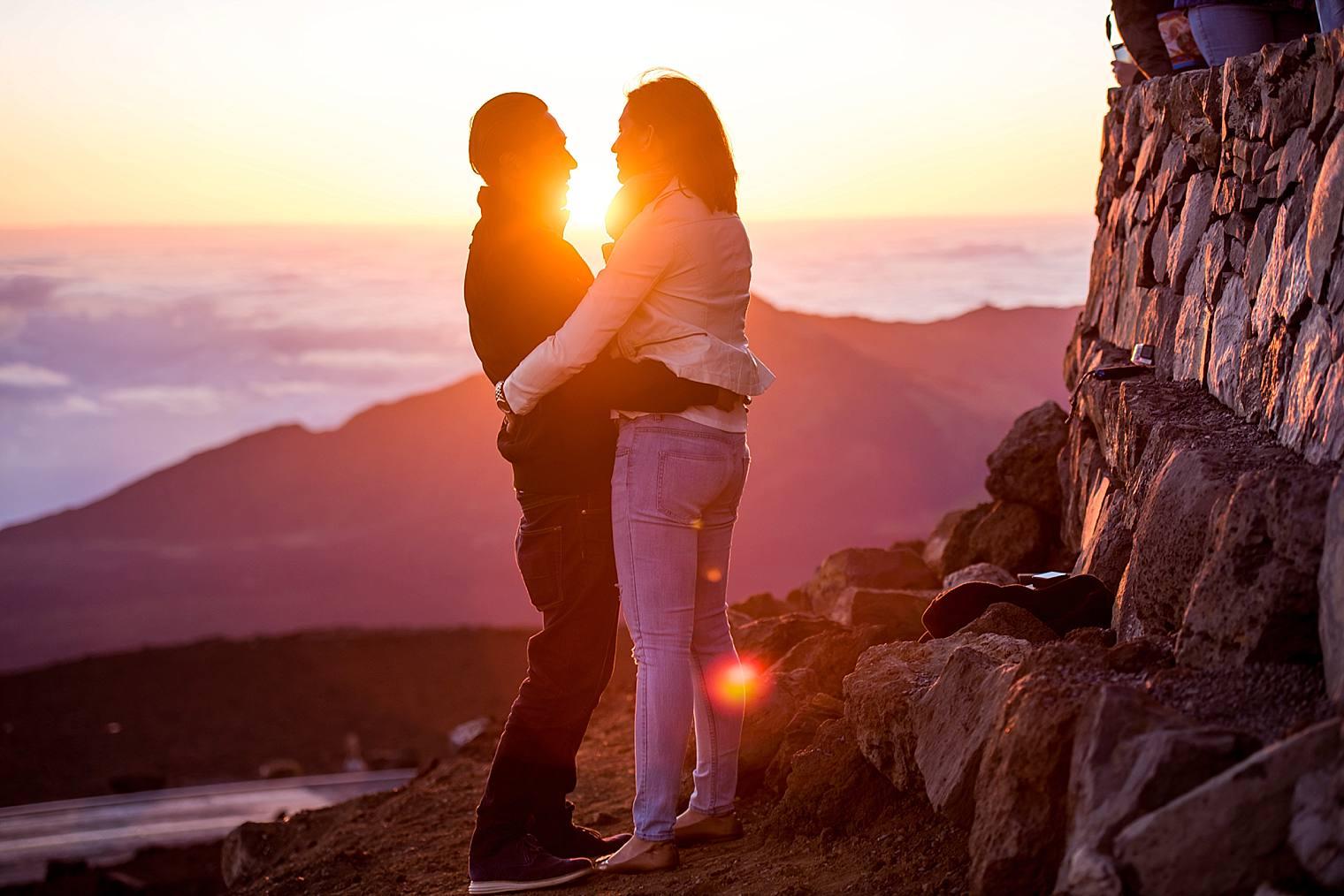 Sunrise Haleakala Proposal - Maui Proposal Photographer_0010