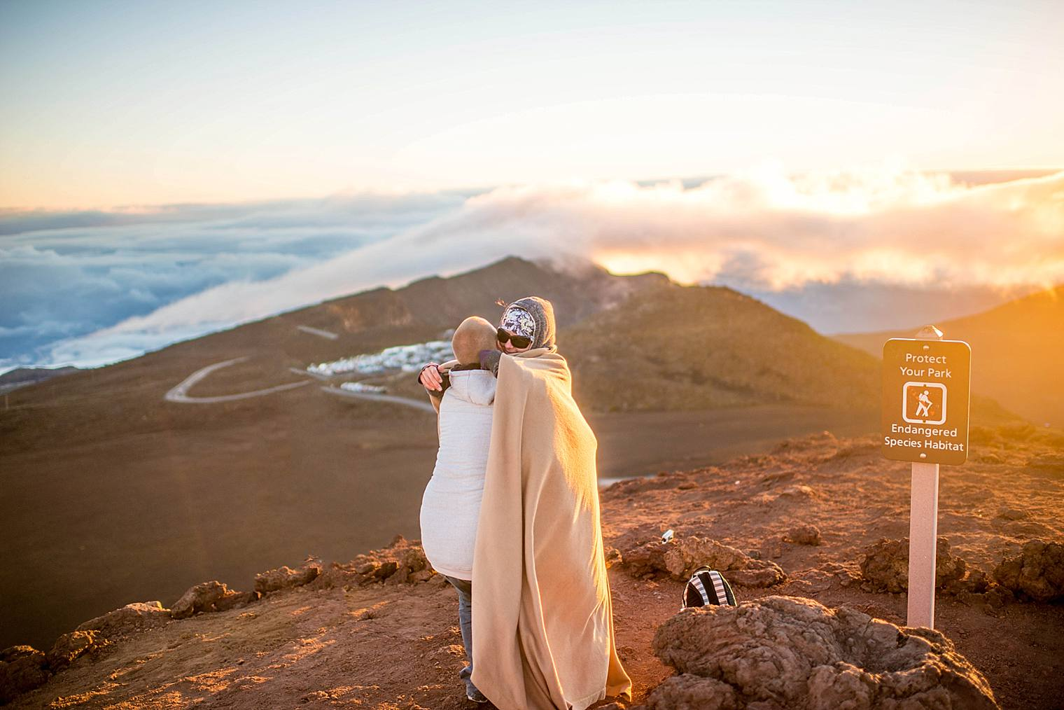 Haleakala Proposal Photographer Sunrise | Engaged on Maui_0008