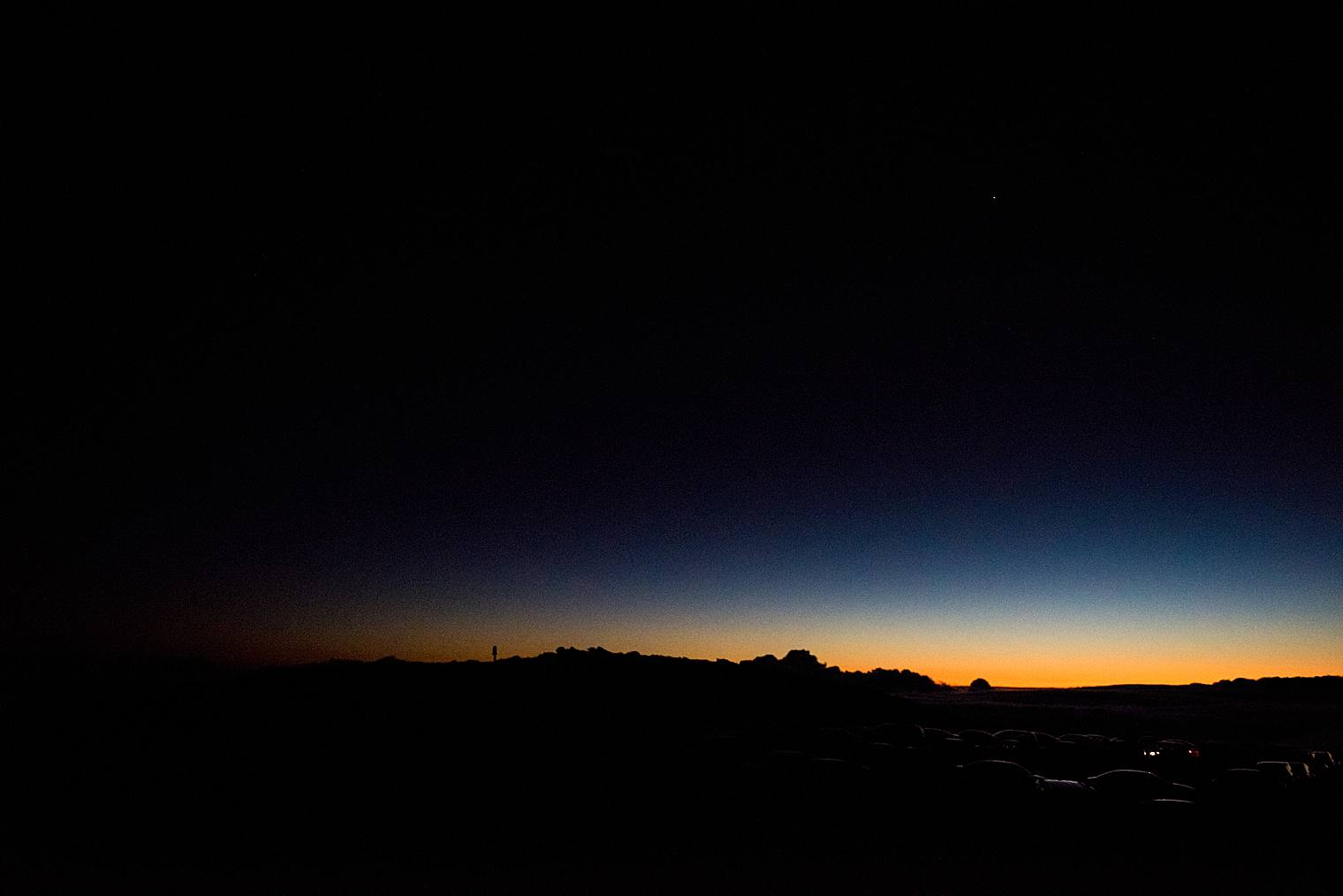 haleakala before sunrise