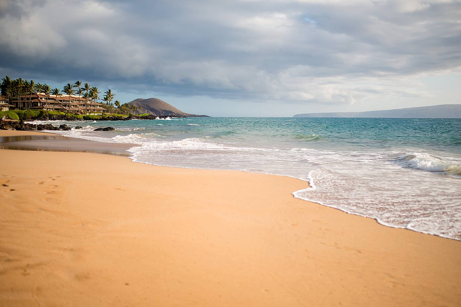 Po'olenalena Beach in Maui, Hawaii