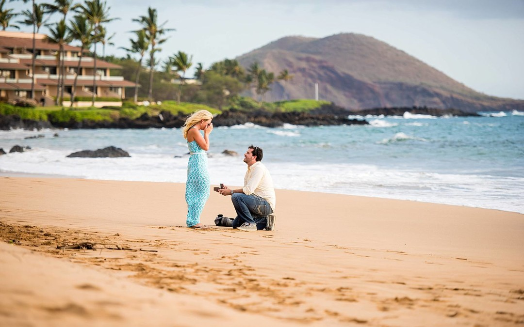 Kenny + Shey | Romantic Picnic Proposal in Maui