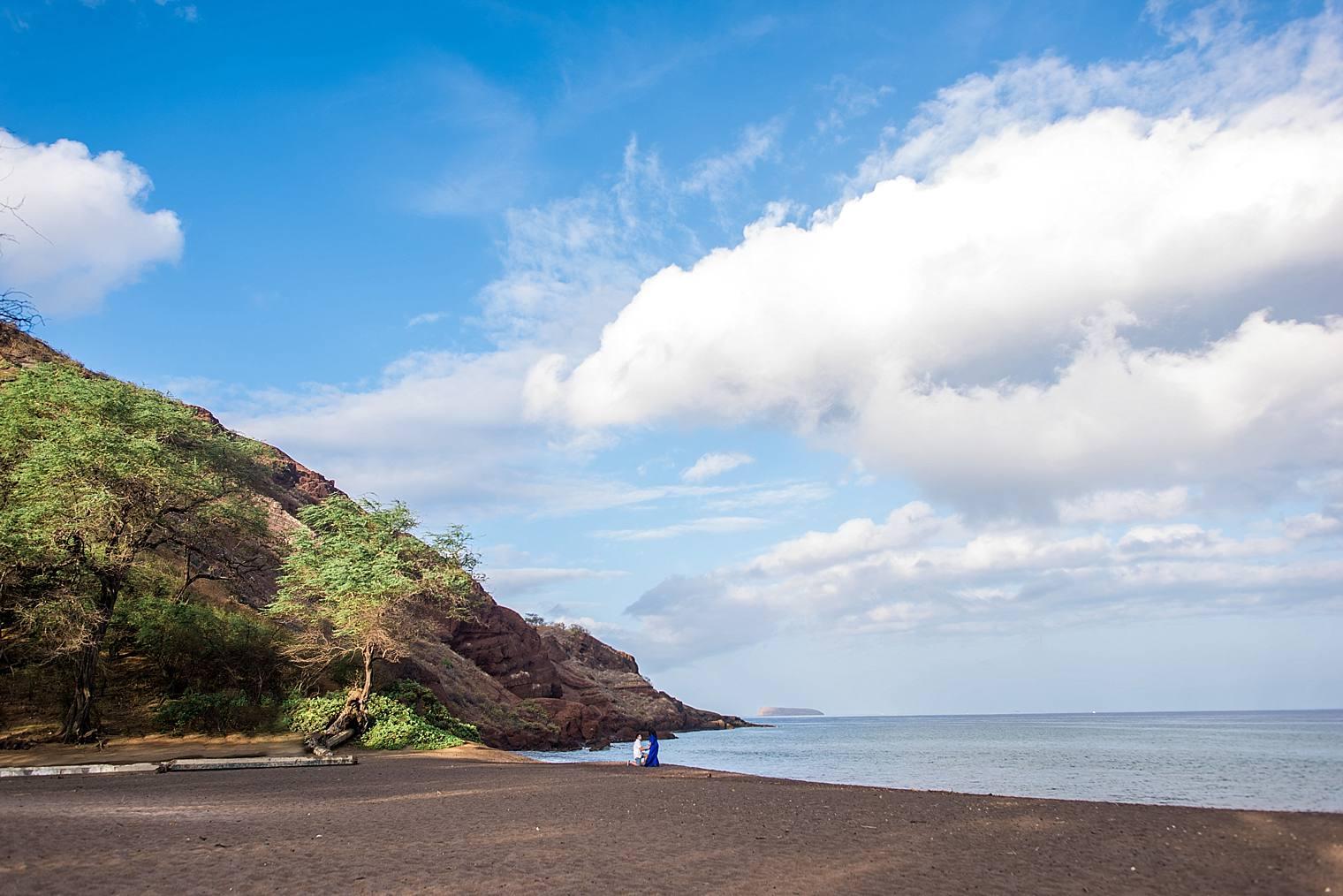 Maui Surprise Proposal Photographer - Black Sand Beach_0008
