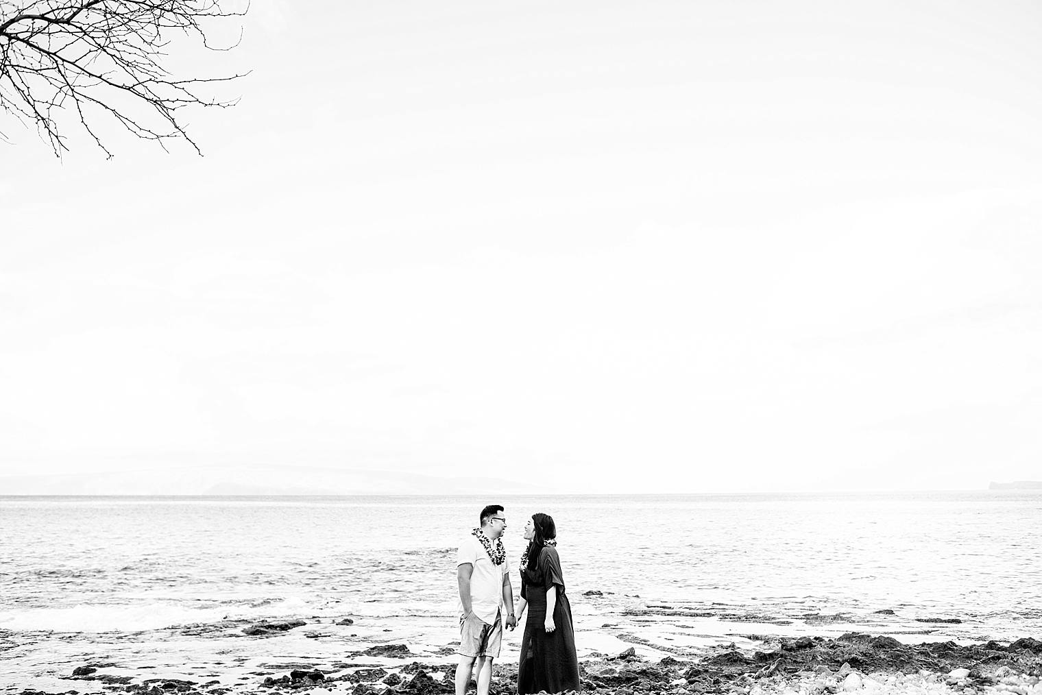 Maui Surprise Proposal Photographer - Black Sand Beach_0015