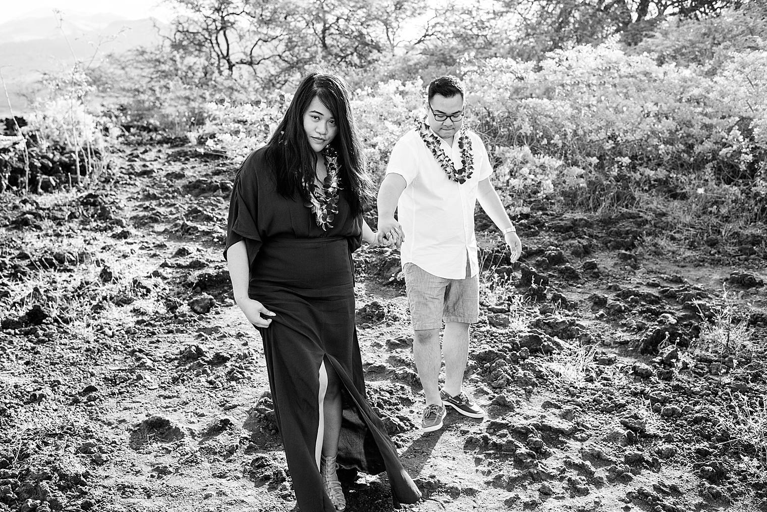 Maui Surprise Proposal Photographer - Black Sand Beach_0017