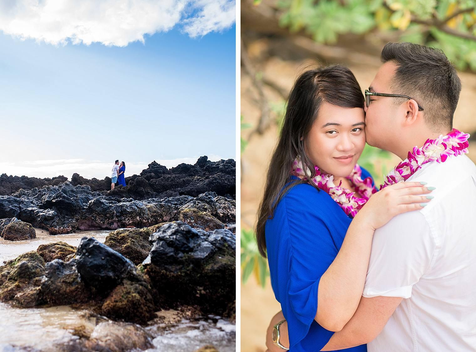 Maui Surprise Proposal Photographer - Black Sand Beach_0021