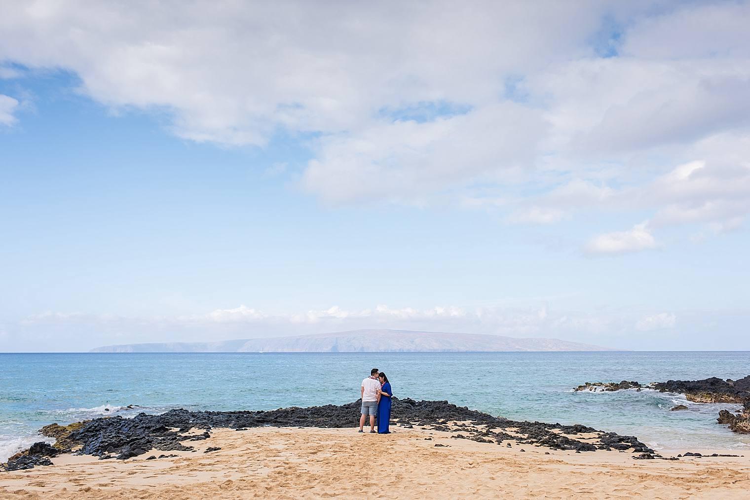 Maui Surprise Proposal Photographer - Black Sand Beach_0025