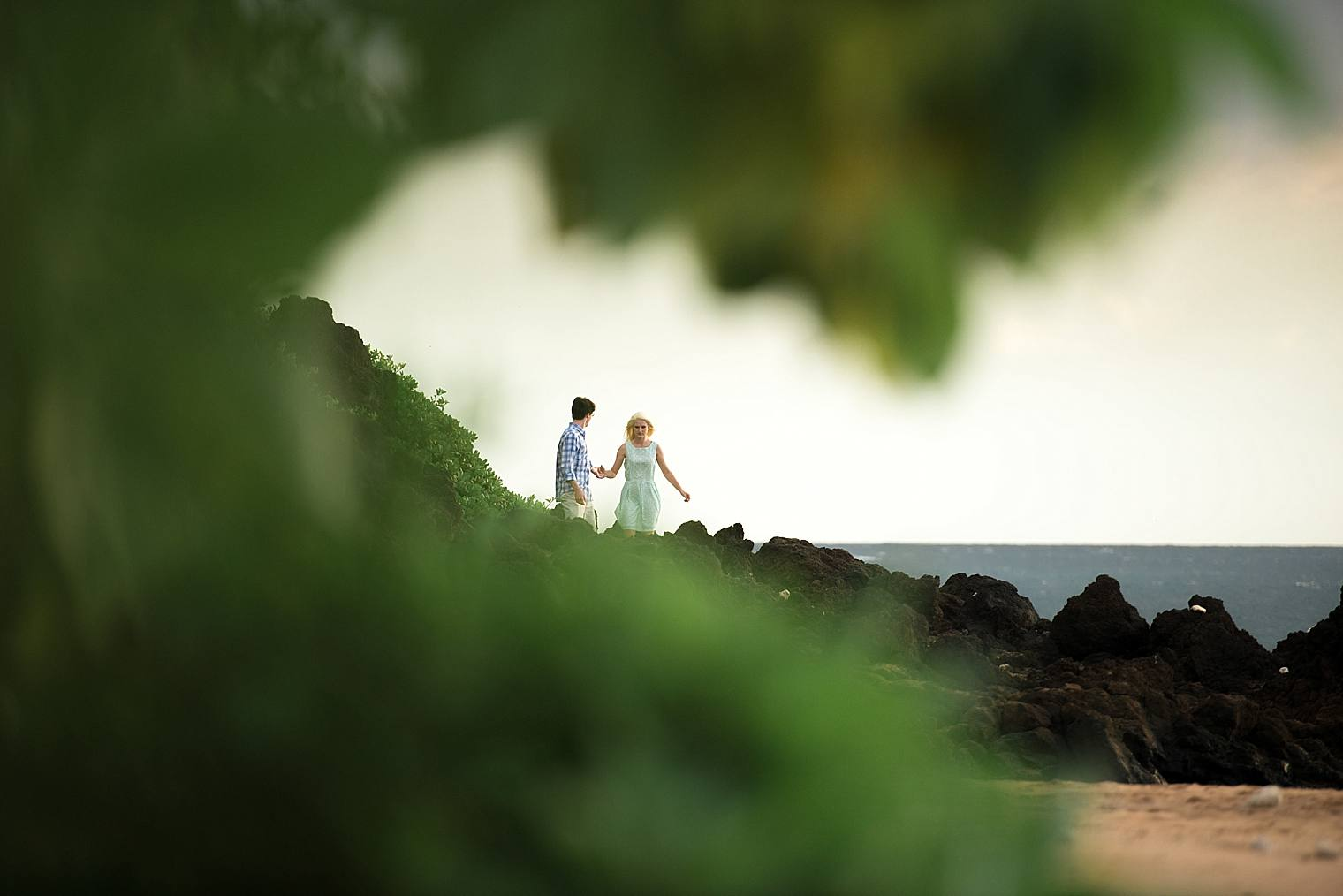 Wailea Engagement Photographer - Engaged on Maui_0004