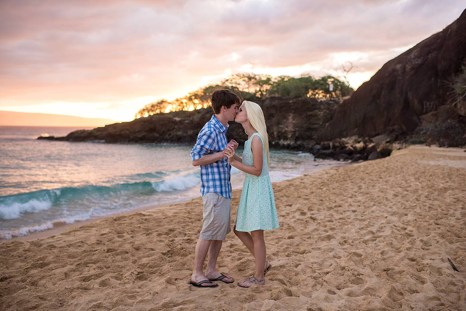 Wailea Engagement Photographer - Engaged on Maui_0022