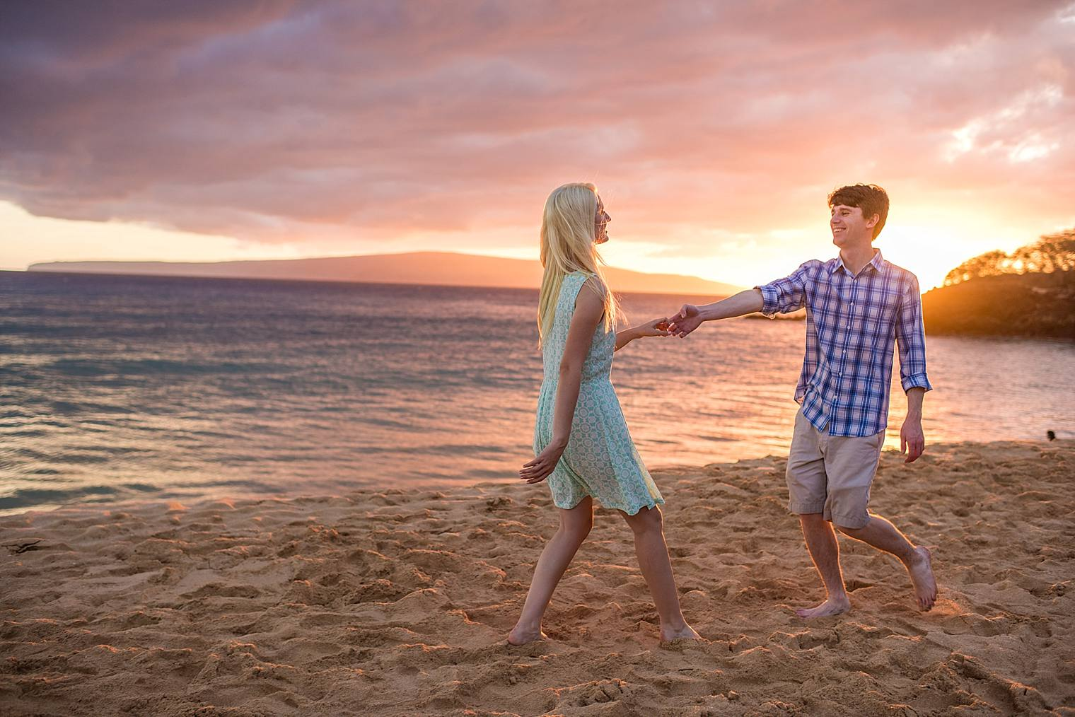 Wailea Engagement Photographer - Engaged on Maui_0026