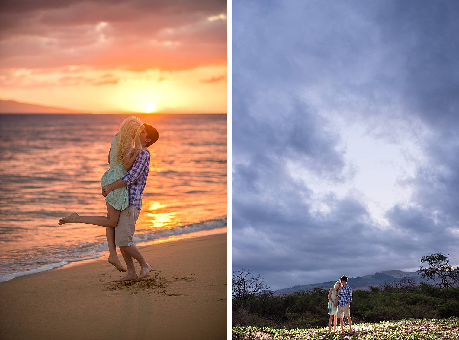 Wailea Engagement Photographer - Engaged on Maui_0030