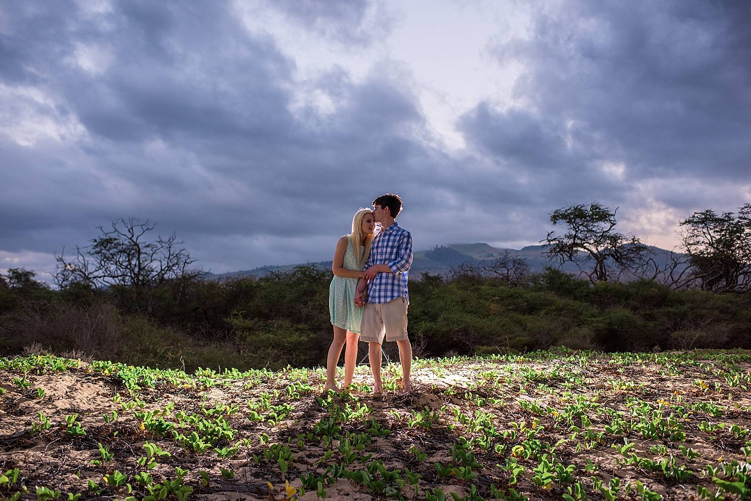 Wailea Engagement Photographer - Engaged on Maui_0031