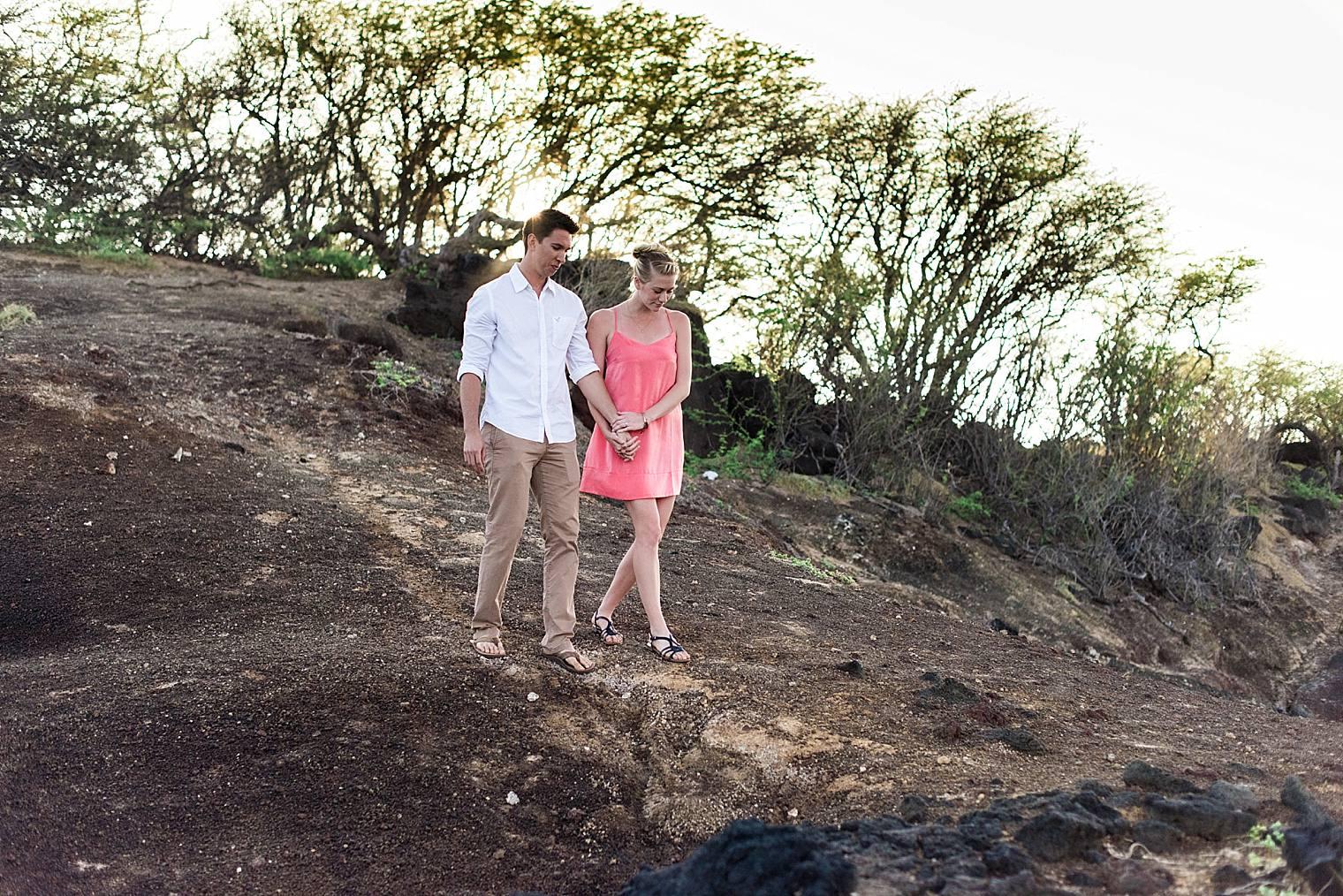 Sunrise Cliff Proposal in Maui, Hawaii_0018