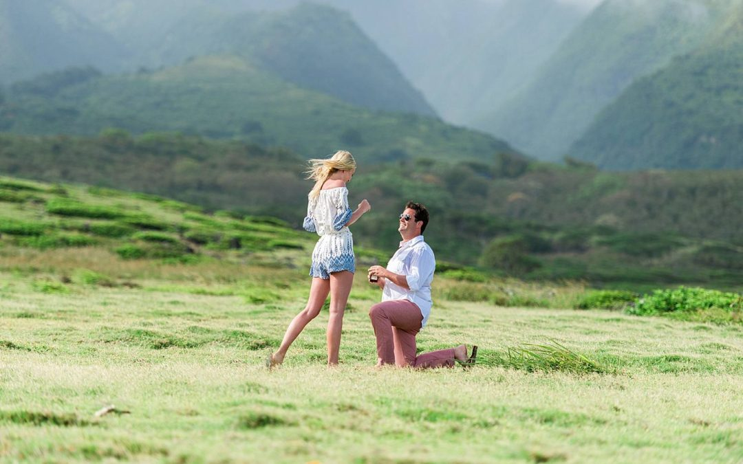 Remote Helicopter Proposal in Maui   Lane + Sophie
