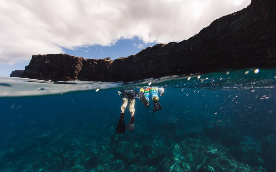 Underwater Snorkeling Proposal in Maui, Hawaii | Maui Underwater Photographer
