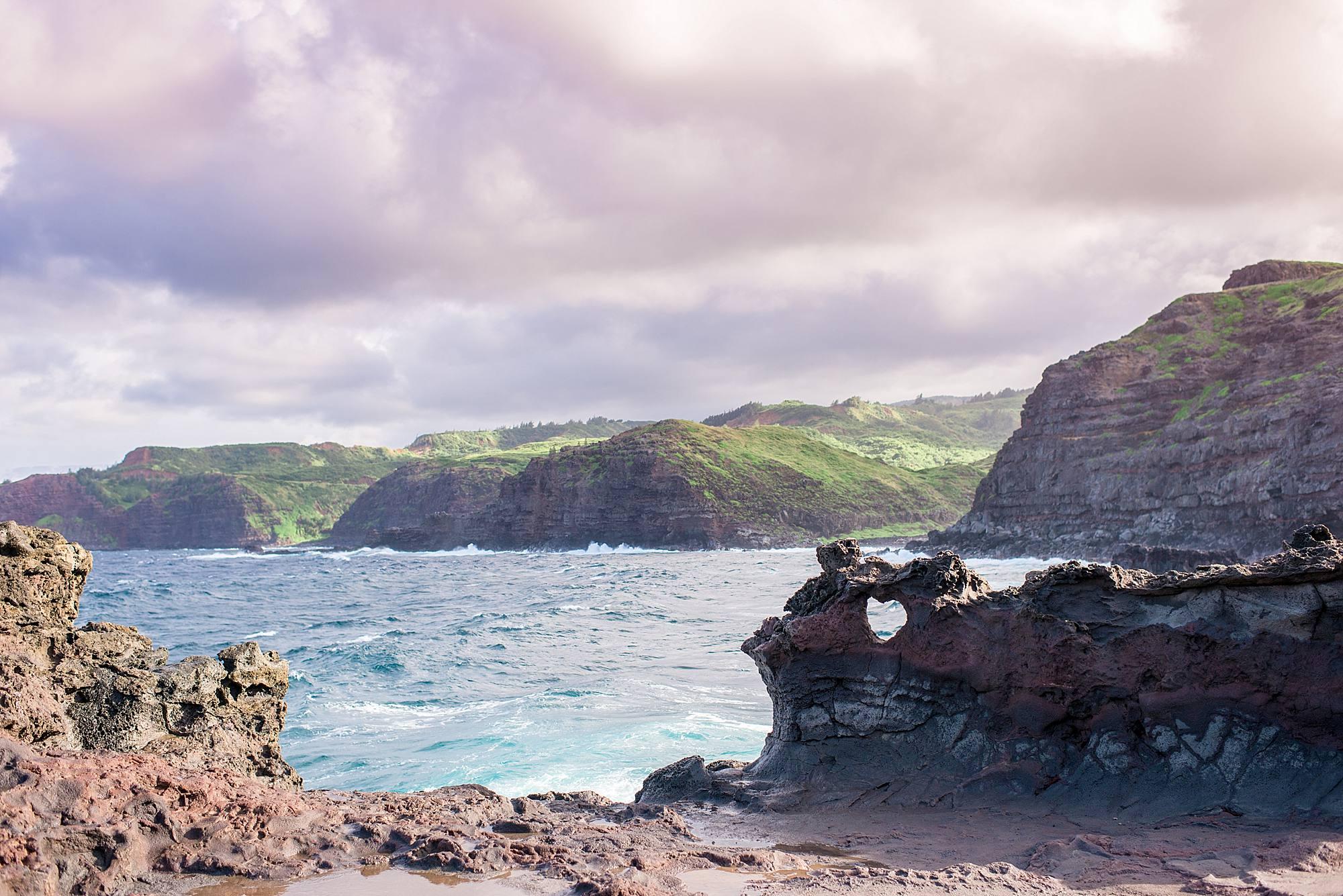 heart rock maui, hawaii