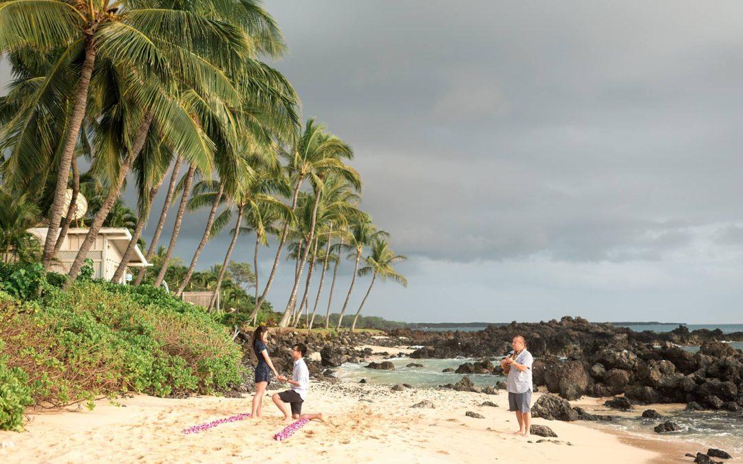 Romantic Maui Scavenger Hunt Proposal | Ken + Lisa
