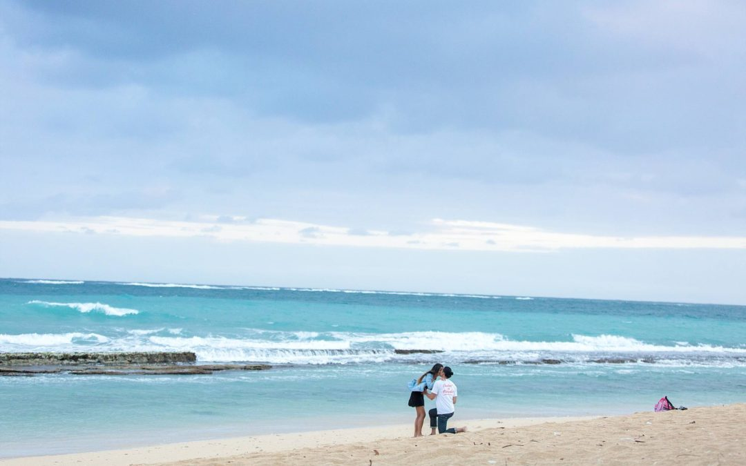 Cruisin' in Paradise Proposal on Maui | Antony + Alysia