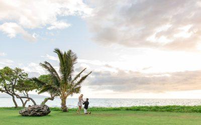 Spontaneous South Maui Proposal | Matt + Julene