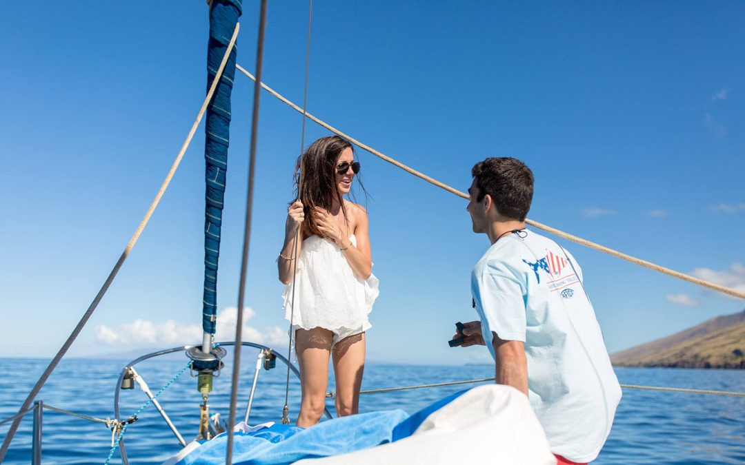 Maui Chartered Boat Proposal | Mike + Dana