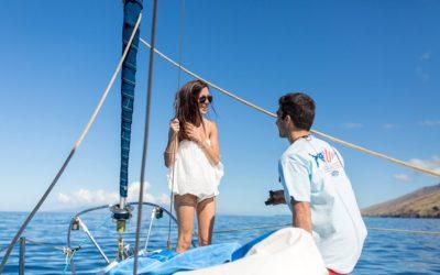 Maui Chartered Boat Proposal | Mike + Dana