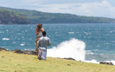Maui Helicopter Proposal with Patriots Wide Receiver Brandin Cooks | Brandin + Bri