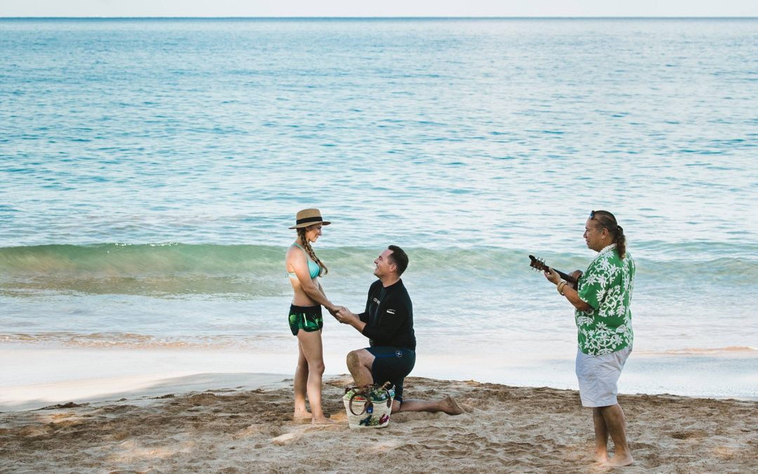 Maui Stand Up Paddle Board Proposal | Noah + Jennifer