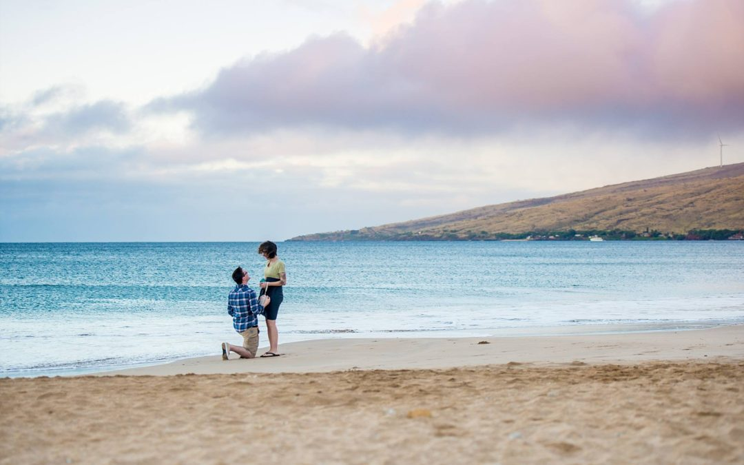 Babymoon Proposal in South Maui | Travis + Ali