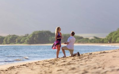 Beach Proposal in Maalaea | Jimmy + Ariel
