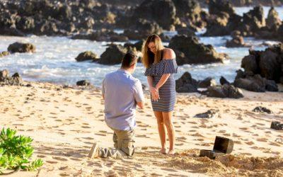 Buried Treasure Proposal | Blake + Kristina