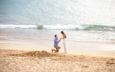 Heartfelt South Maui Proposal | Tae + Miso