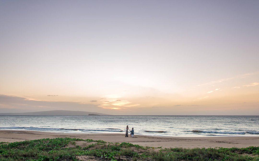 Romantic Beach Walk Proposal | Ryan + Tiffanee