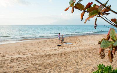 Sweet South Maui Picnic Proposal | Calin + Borislava