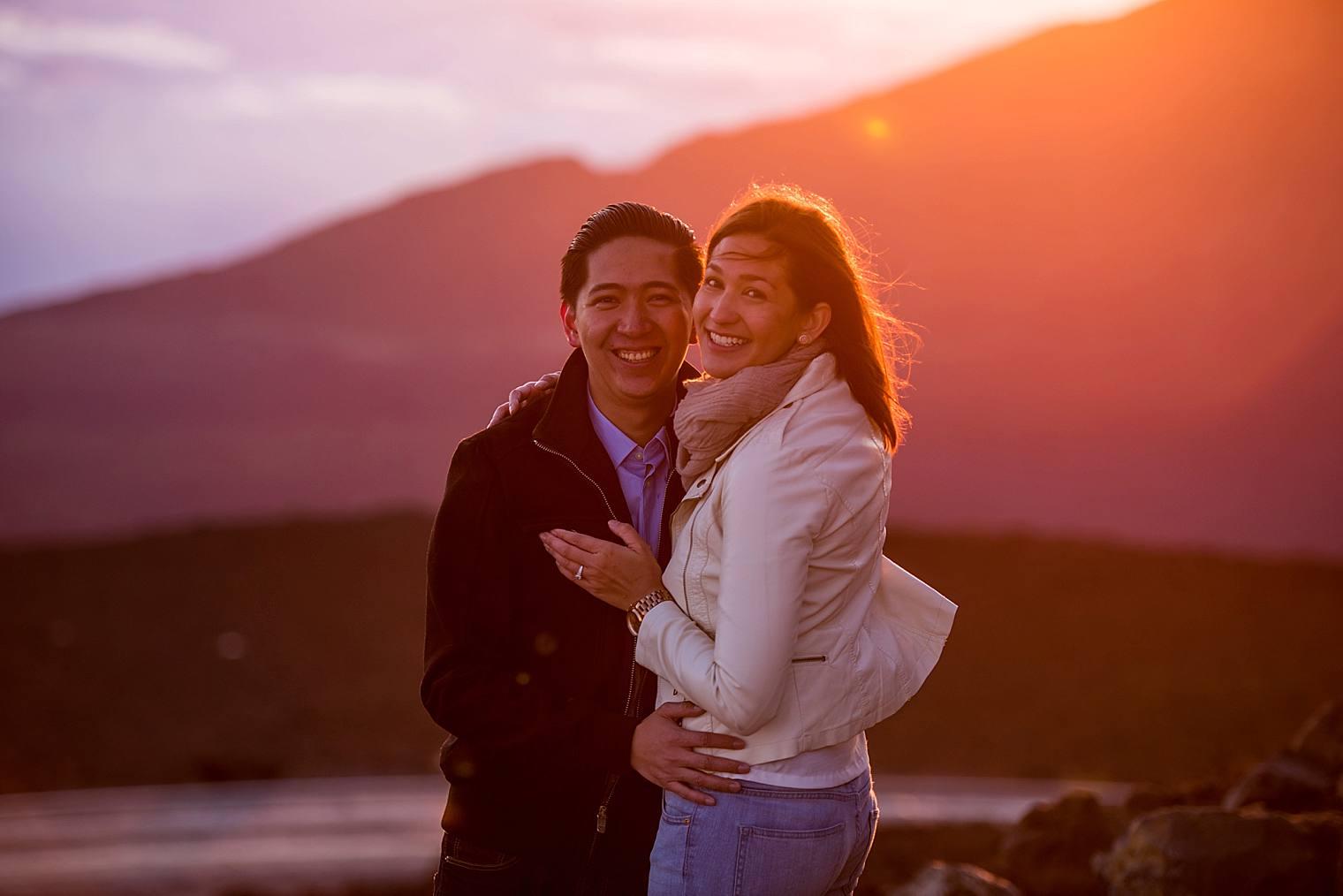 Sunrise Haleakala Proposal - Maui Proposal Photographer_0011