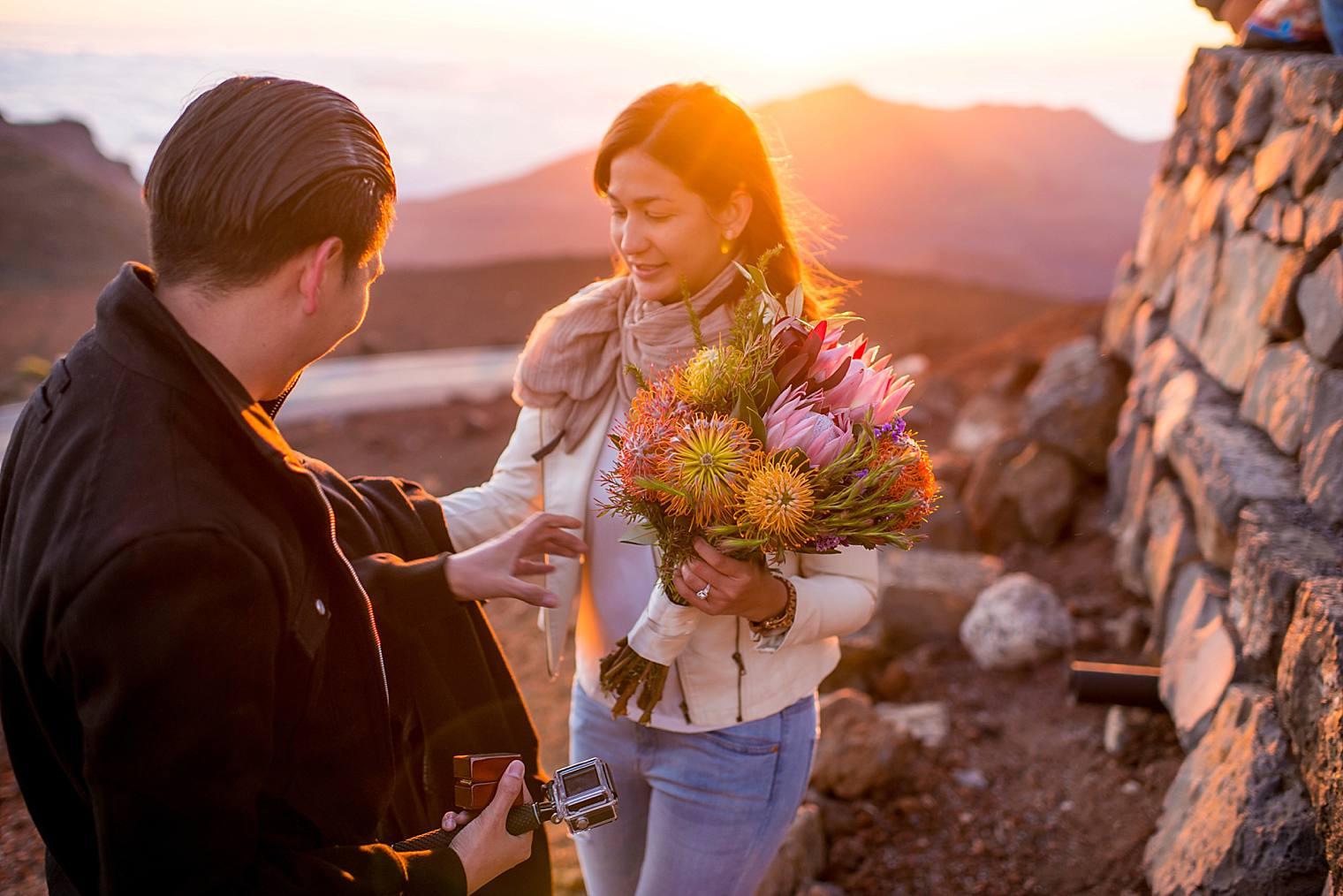 Sunrise Haleakala Proposal - Maui Proposal Photographer_0013