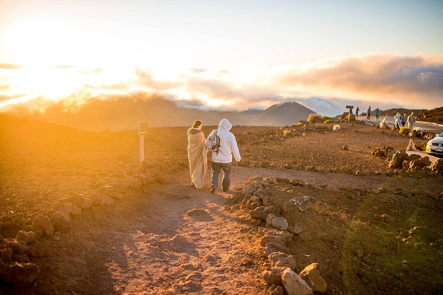 Haleakala Proposal Photographer Sunrise | Engaged on Maui_0011