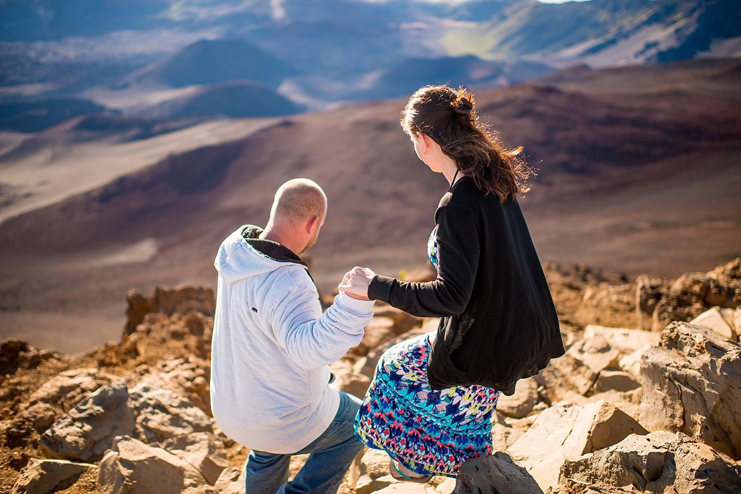 Haleakala Proposal Photographer Sunrise | Engaged on Maui_0012