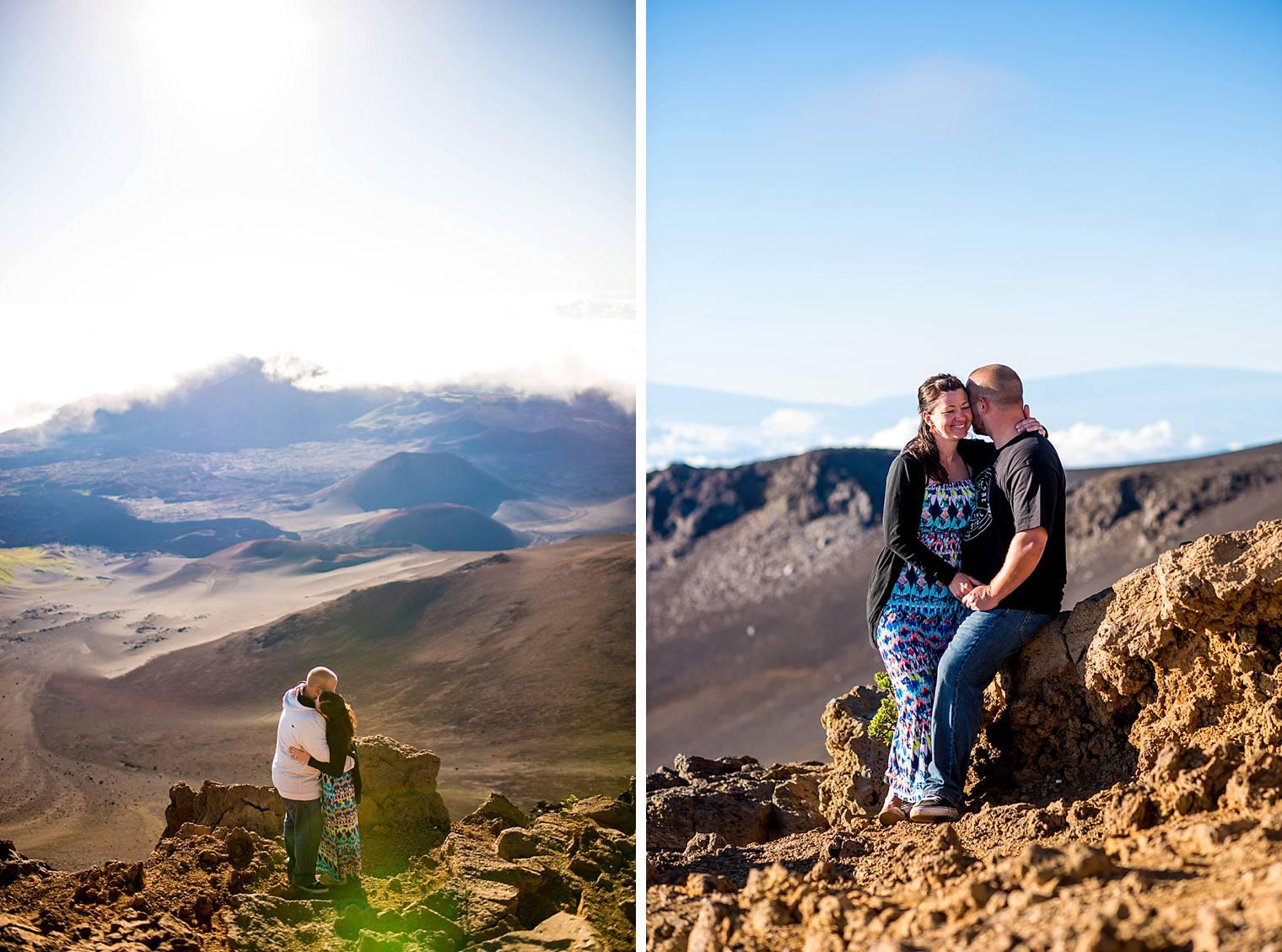 Haleakala Proposal Photographer Sunrise | Engaged on Maui_0014