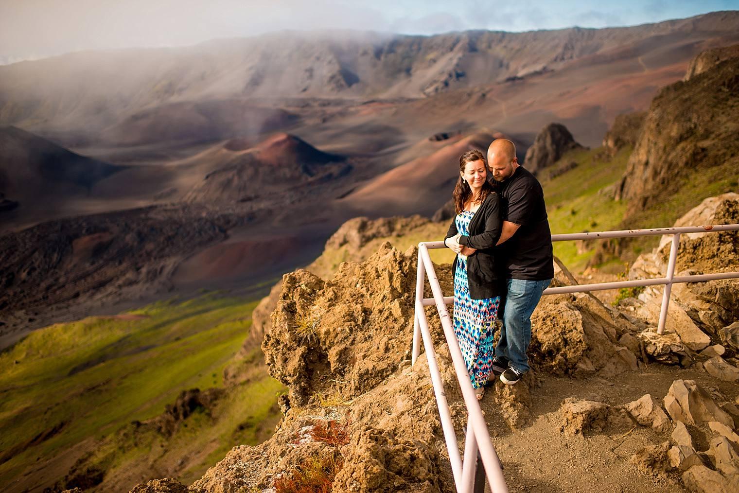 Haleakala's crater