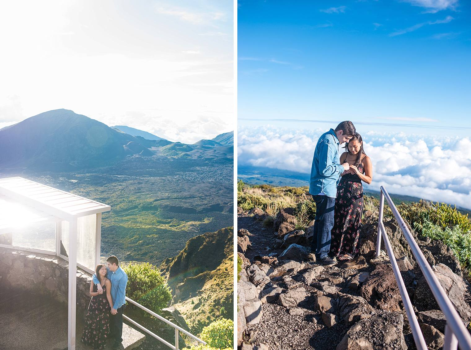 couple in Haleakala National Park