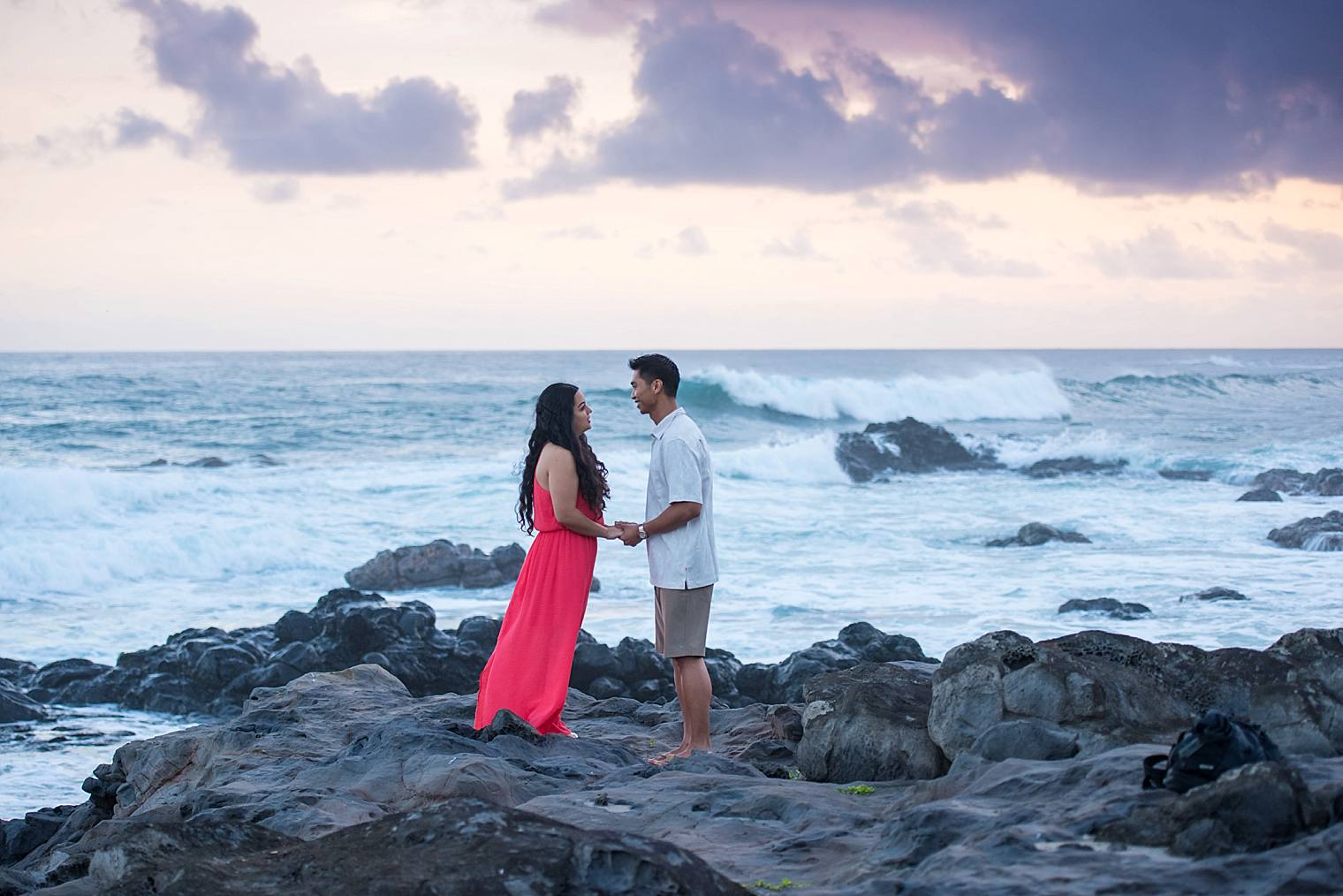 Surprise sunrise proposal in Paia - Maui Proposal Photographer_0024