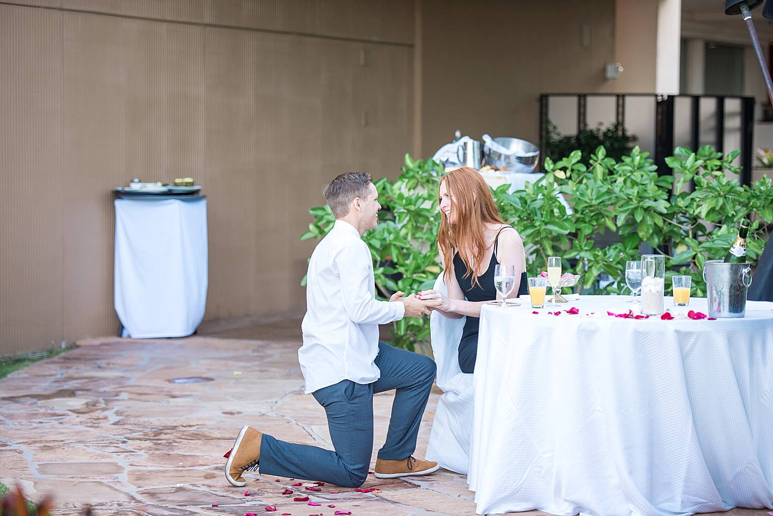 Sunrise Breakfast Proposal at the Westin Kaanapali: Brook and Jack