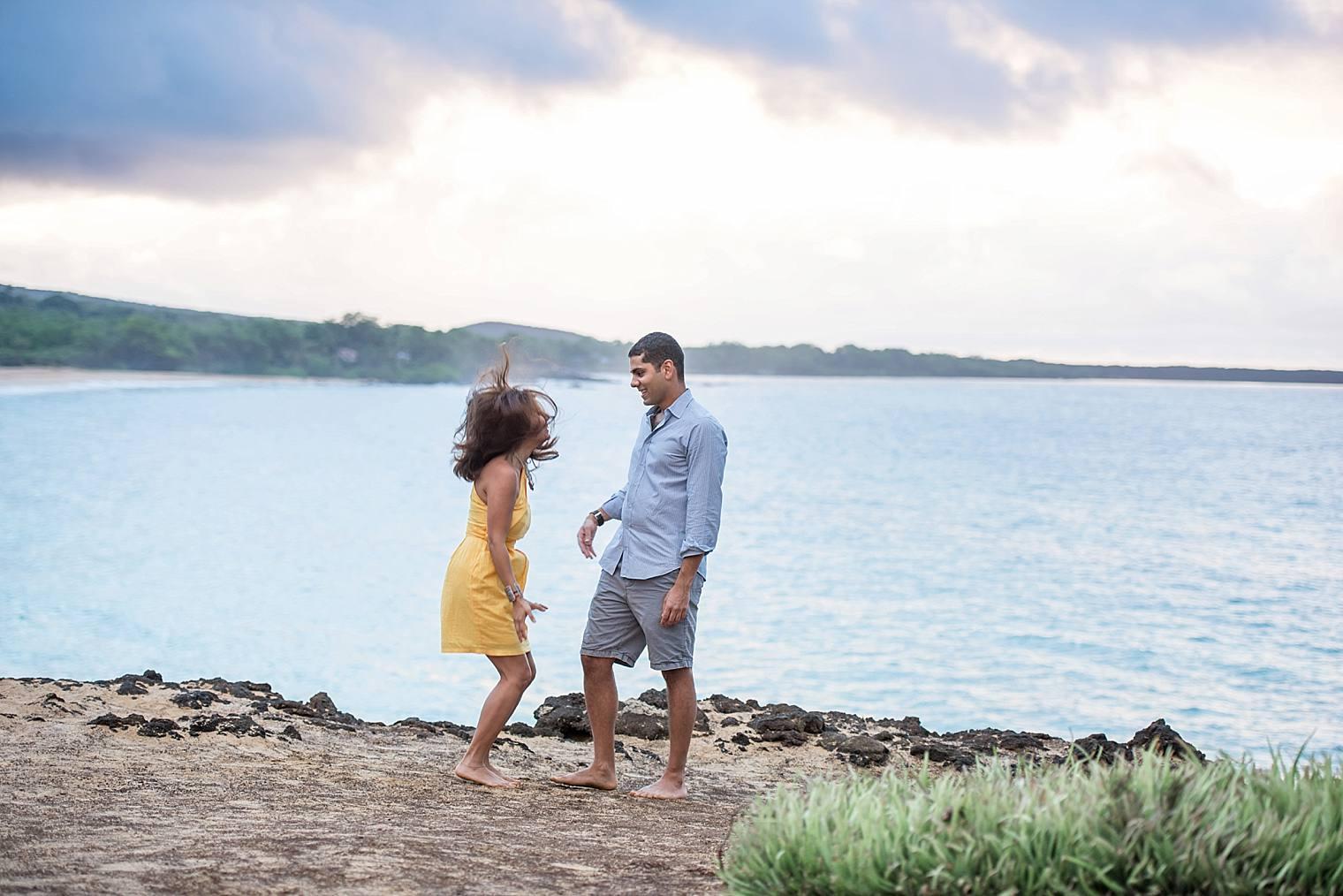 cliffside sunrise proposal in Maui_0011