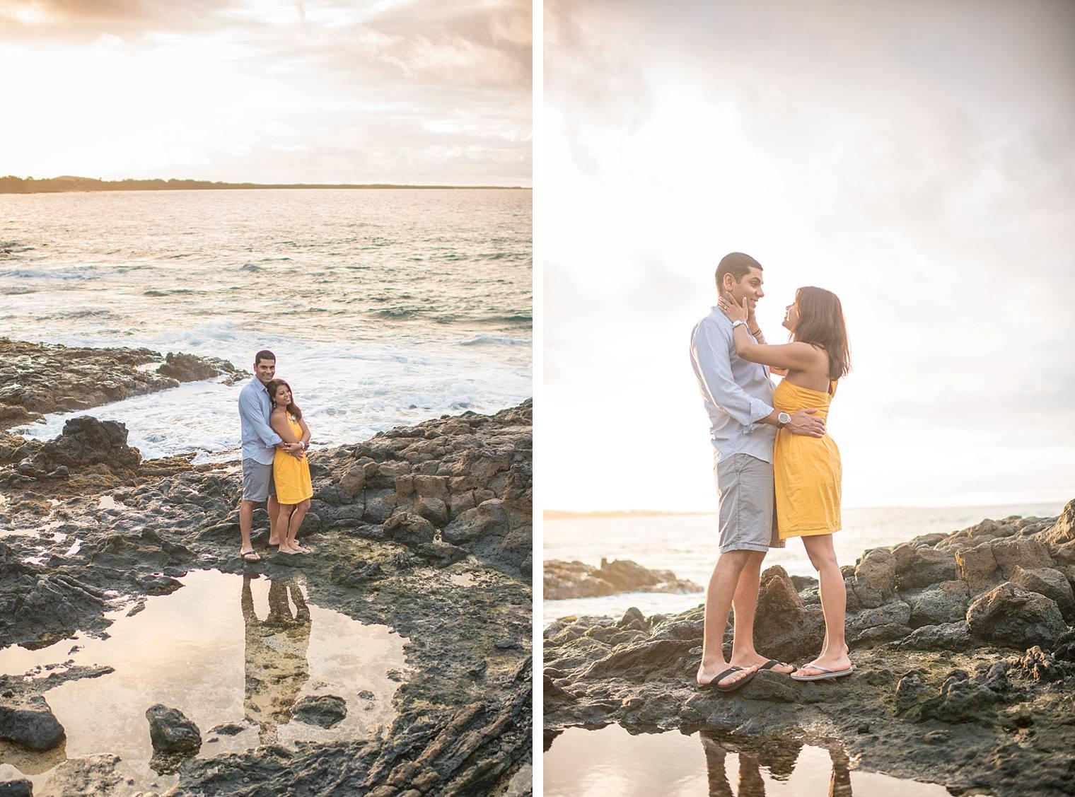 cliffside sunrise proposal in Maui_0016