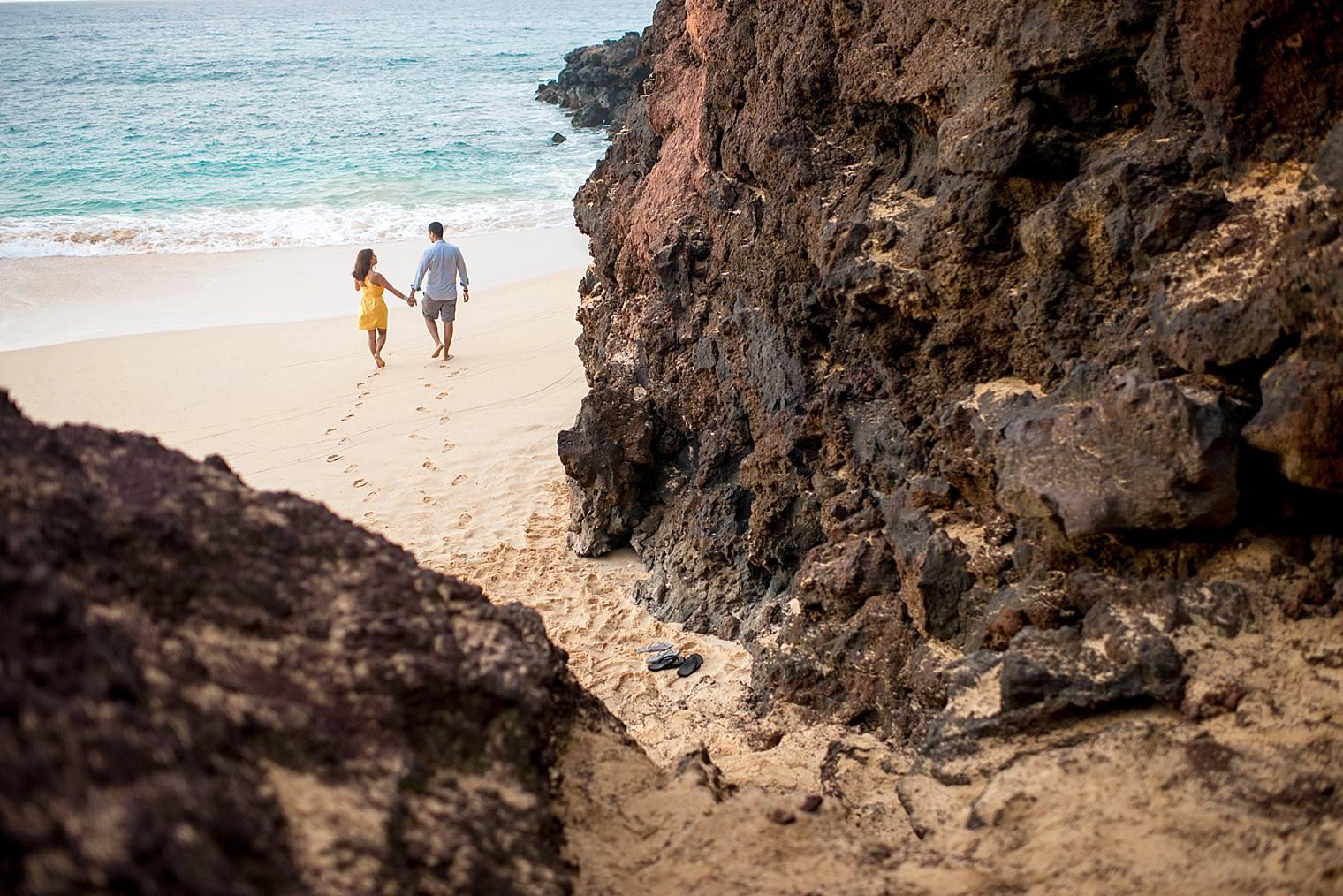 cliffside sunrise proposal in Maui_0018