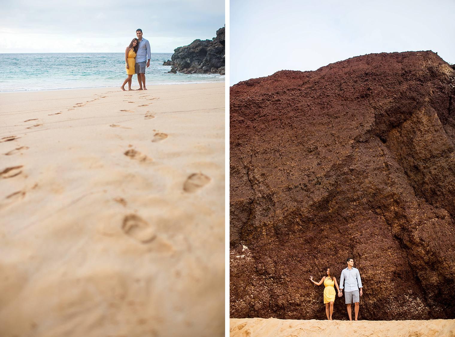 cliffside sunrise proposal in Maui_0019
