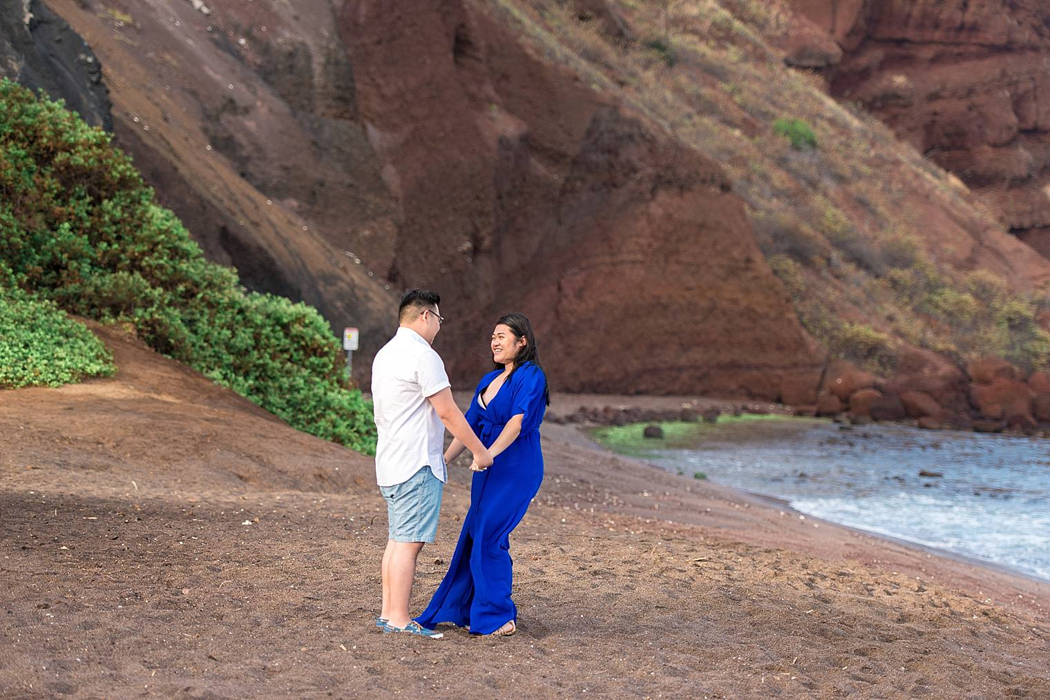 Maui Surprise Proposal Photographer - Black Sand Beach_0013