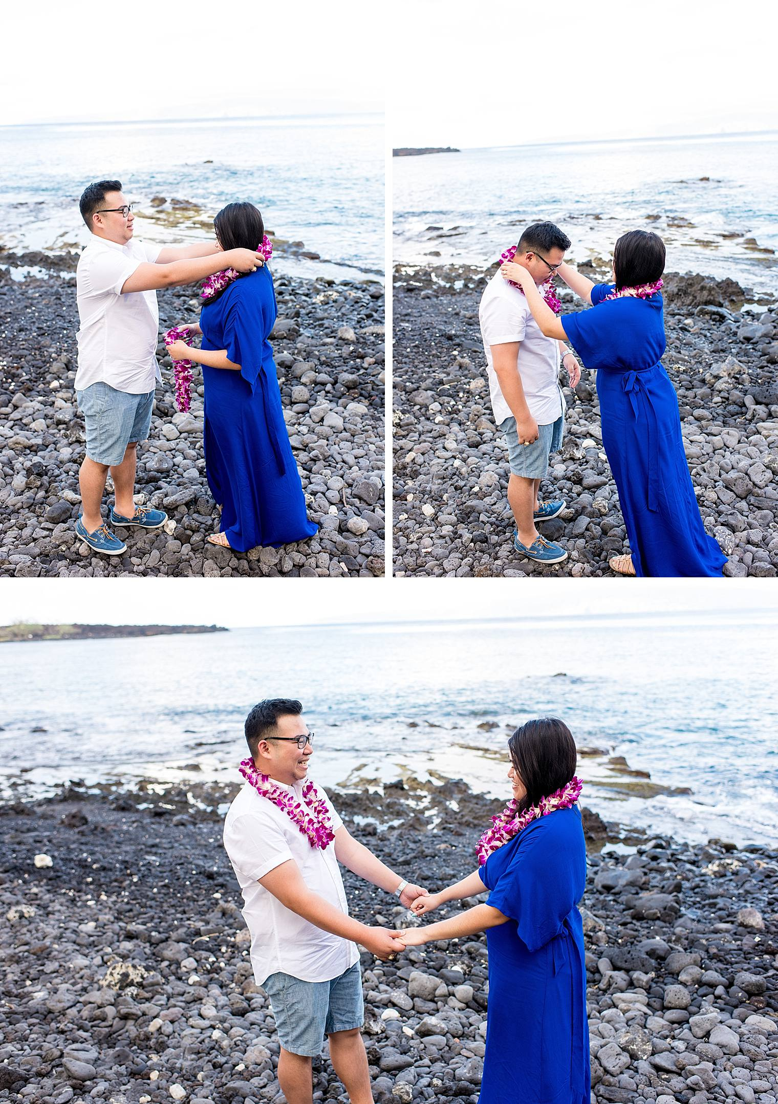 Maui Surprise Proposal Photographer - Black Sand Beach_0014