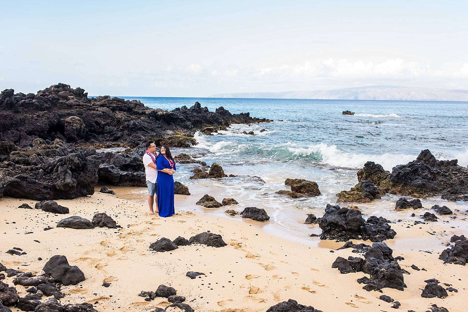 Maui Surprise Proposal Photographer - Black Sand Beach_0019