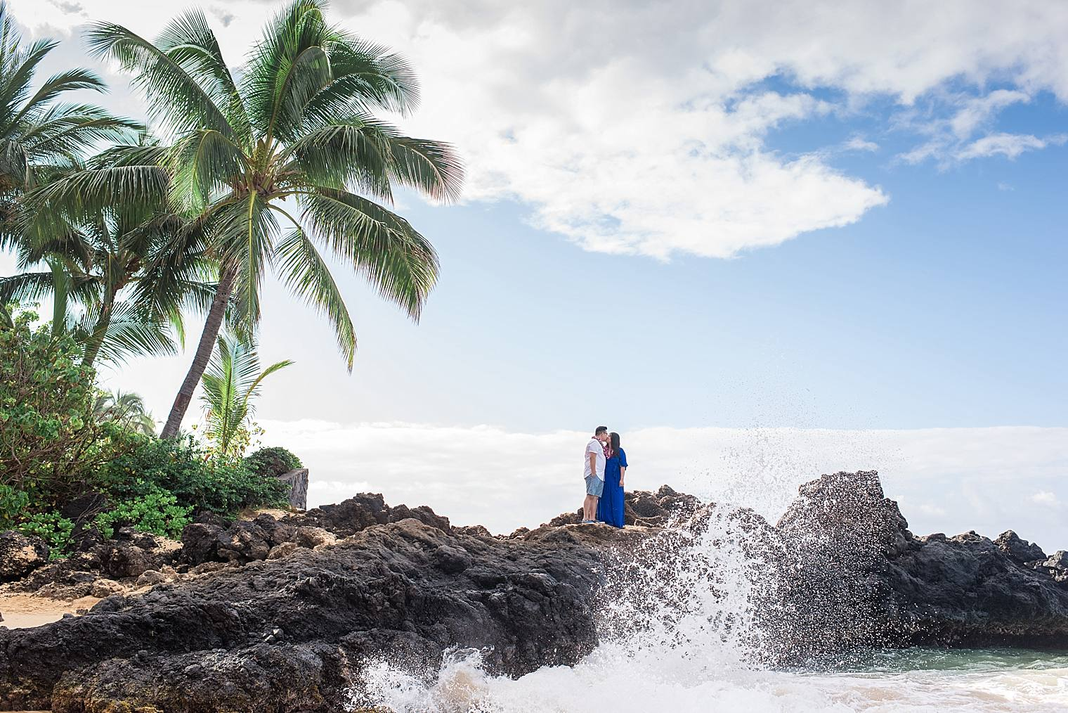 Maui Surprise Proposal Photographer - Black Sand Beach_0022